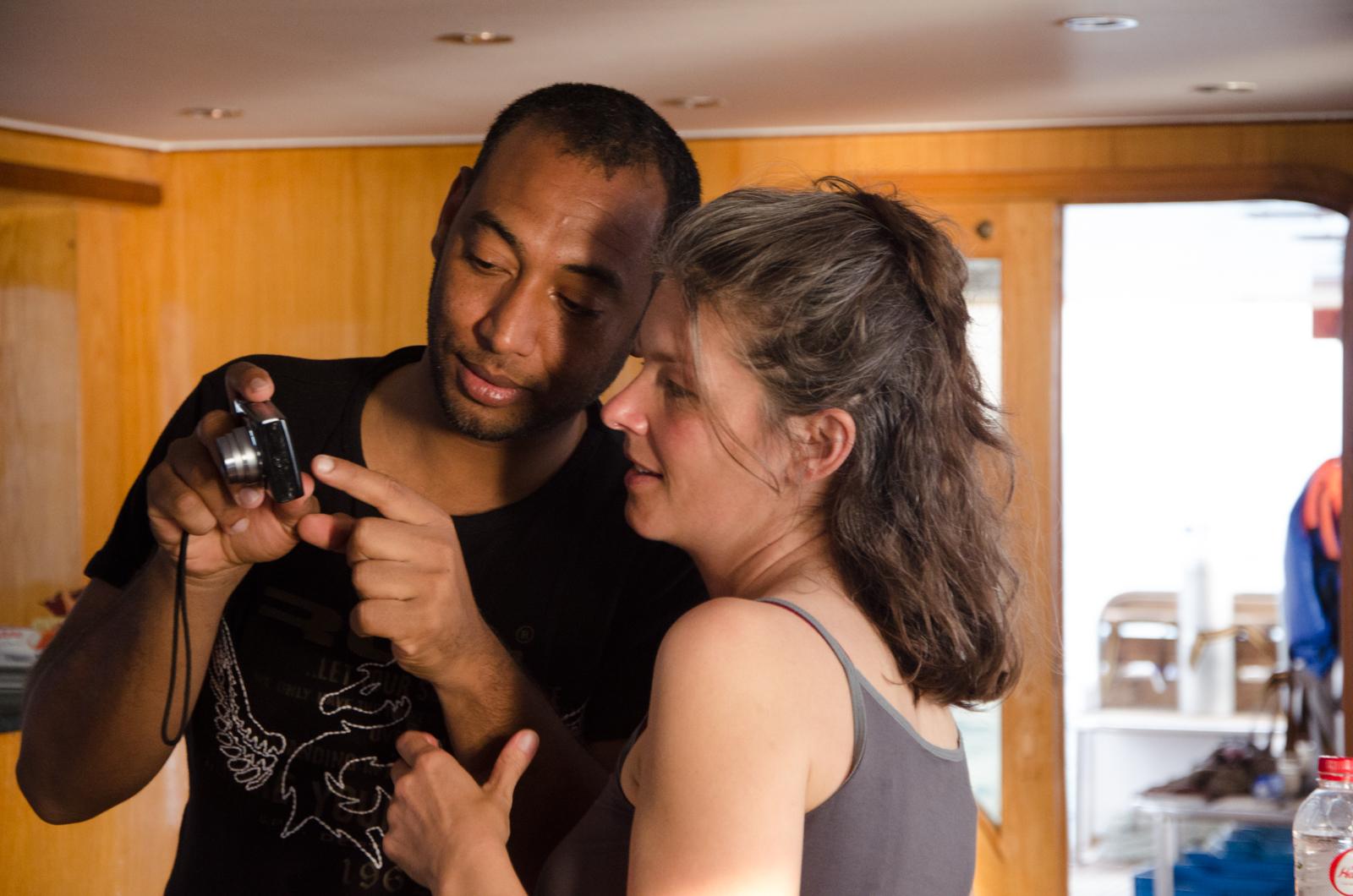 Maroussia Duchamp et Shazly Hassany