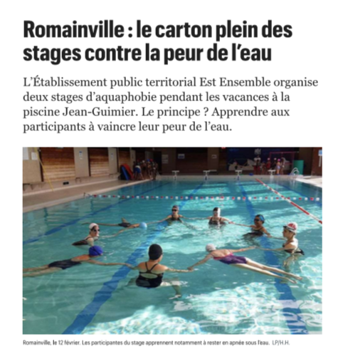 Romainville article de presse